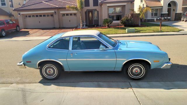 1978 Ford Pinto Runabout 2 Door 2 3l Hatchback 3 Door Low Miles