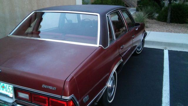 1978 G Body Chevrolet Chevelle Malibu Classic