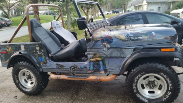 Blue Jeep Renegade >> 1978 Jeep Renegade CJ7 Rip Curl Surf Classic Jeep Project