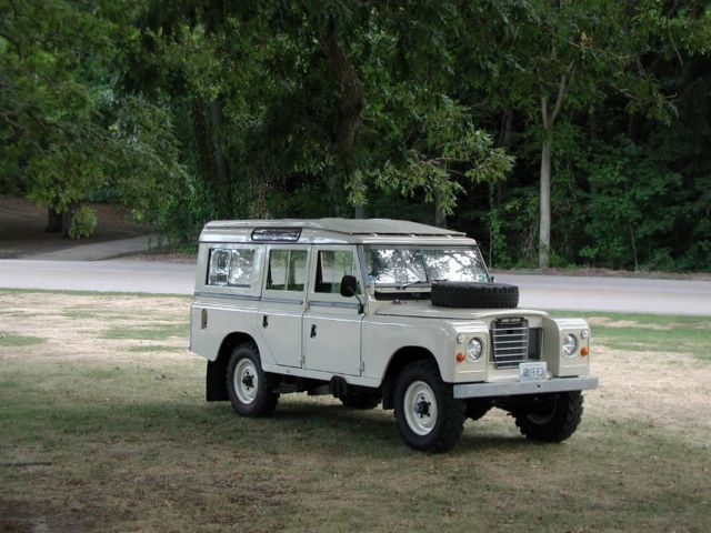 1978 land rover 109 safari rhd 12 seater very sound vehicle for sale in east greenwich. Black Bedroom Furniture Sets. Home Design Ideas