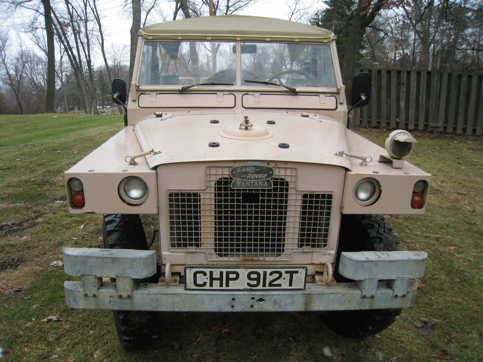 1978 Land Rover Military Series 109 Lightweight (not Defender) with 8400  Miles