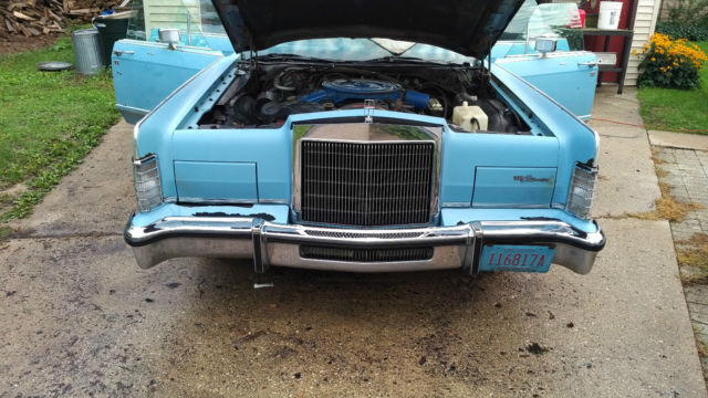 1978 Lincoln Town Car 4 Door 460 Cid 53 000 Original Miles For