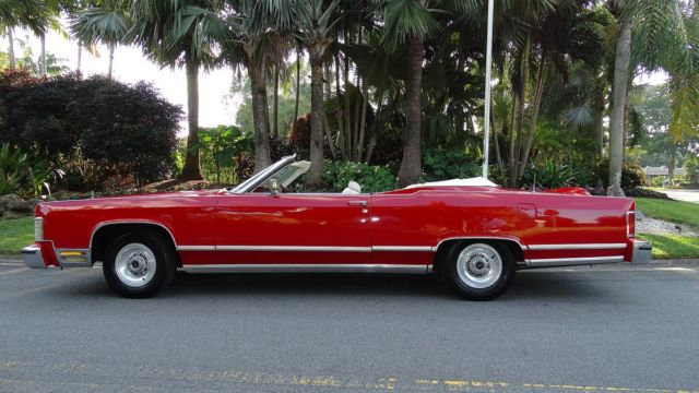 1978 Lincoln Town Coupe Convertible Conversion By Silcco 1 Of A Kind