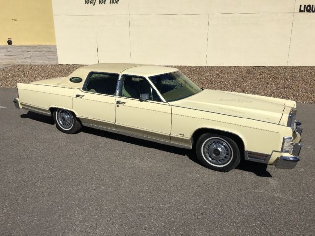 1978 Lincoln Towncar 1 Owner 35 000 Miles