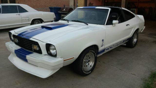 1978 mustang cobra 2 t top v8 new paint decals tires and transmission. Black Bedroom Furniture Sets. Home Design Ideas