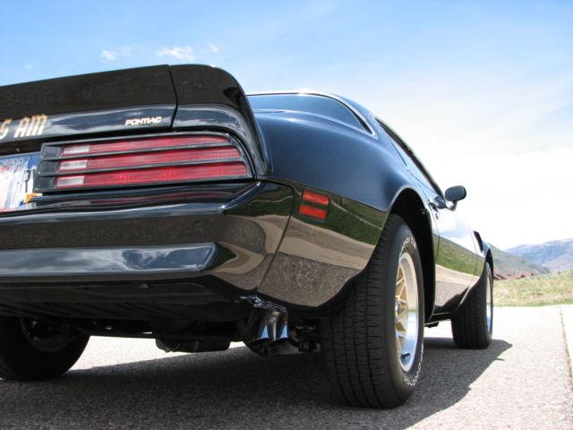 1978 Pontiac Trans Am W72 Ws6 4sp Code 19 Black
