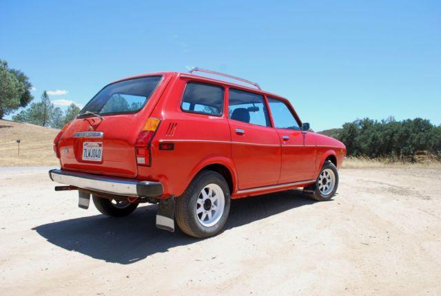 1978 subaru other 4wd for sale in santa margarita california united