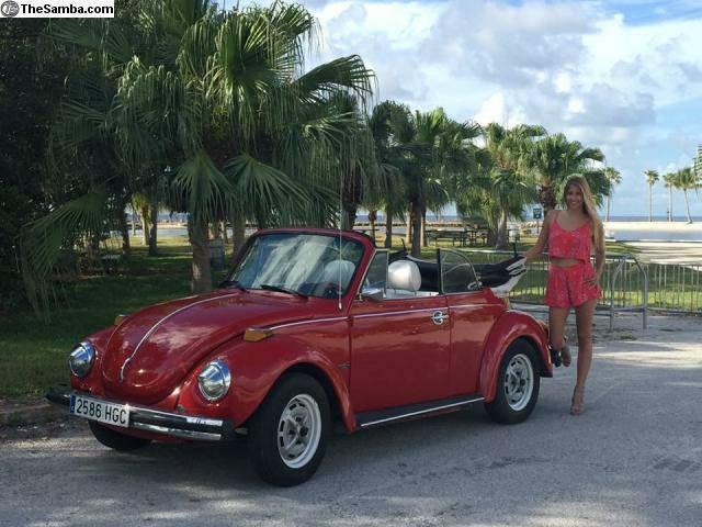 1978 Volkswagen Beetle Classic Convertible