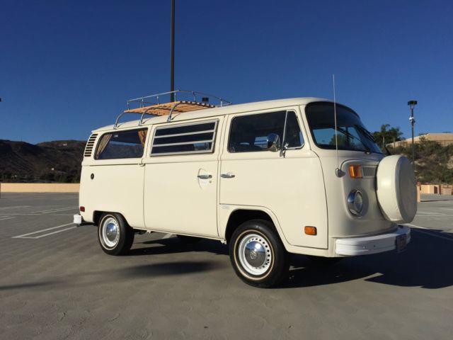 1978 Volkswagen Westfalia Vw Camper Van Bus Video Free Ship With