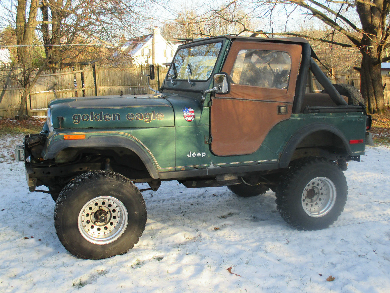 1979 Amc Jeep Golden Eagle Cj5 Cj 5 Lifted With Extras And Transmissions 12000 Winch