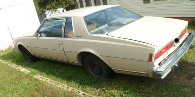 1979 Chevy Caprice Classic - 2 Door Coupe - Cream - 305 V6