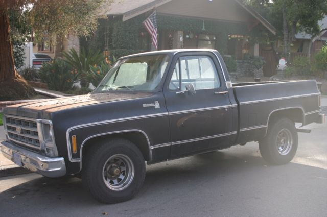 1979 Chevy Silverado Big 10 1500 Shortbed 454