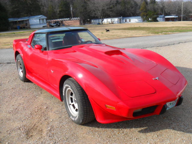 1979 corvette hot rod modified 350 l82 red. Black Bedroom Furniture Sets. Home Design Ideas