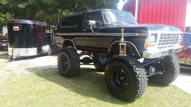 Used Cars Fort Collins >> 1979 Custom Lifted Black Ford Bronco
