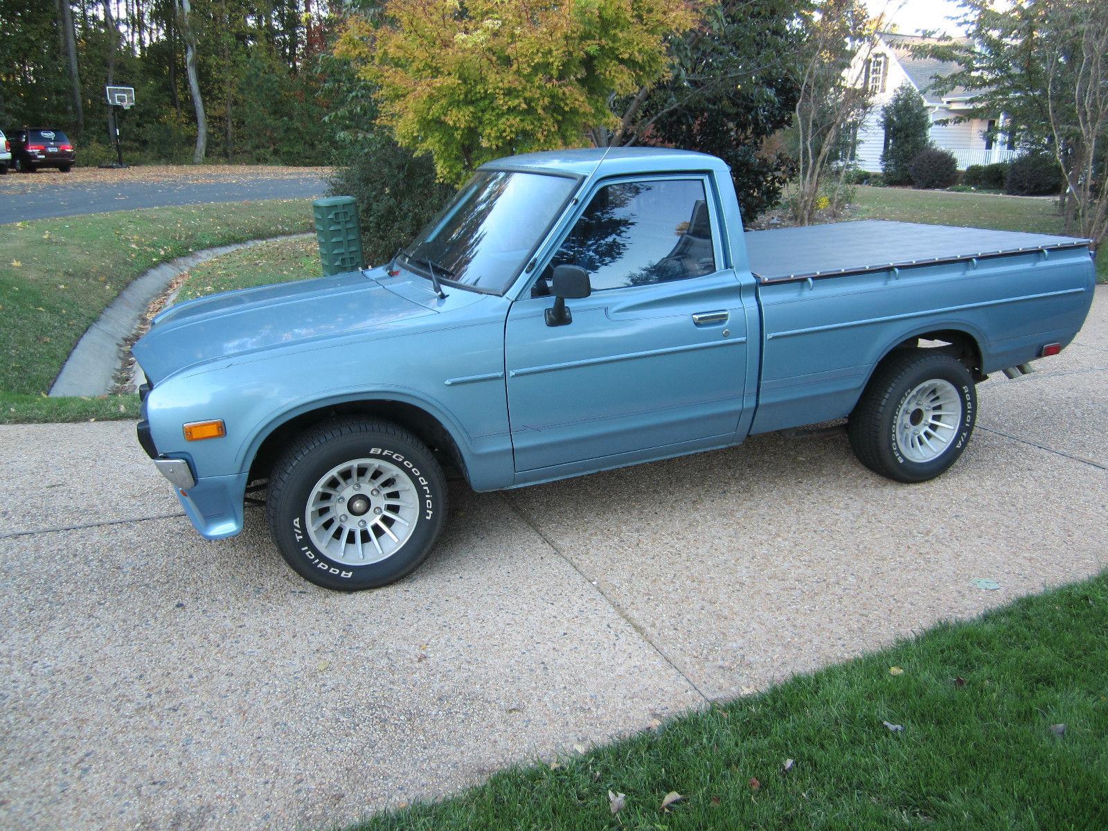 1979 Datsun 620 Pickup Rare Color Rare Options