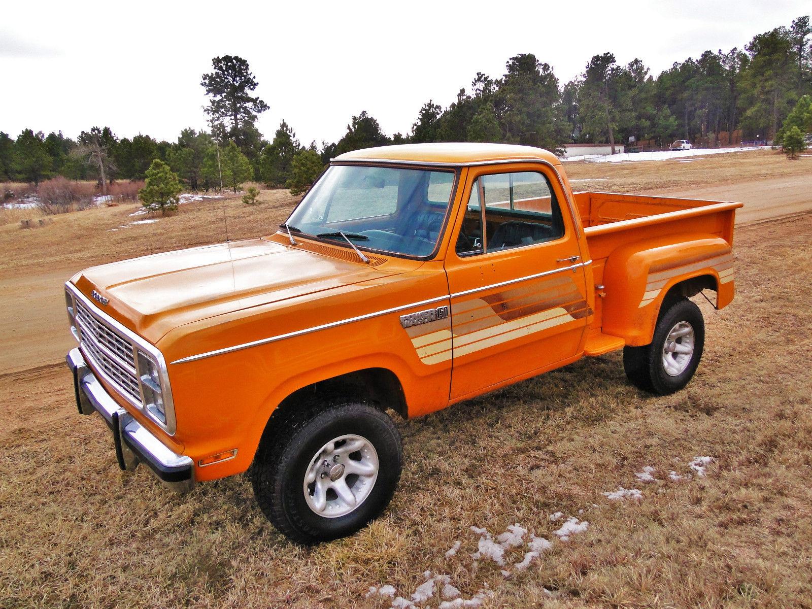 1979 Dodge Power Wagon Round Up very rare survivor Warlock Top Hand for  sale in Colorado Springs, Colorado, United States