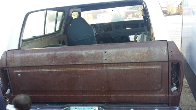 1979 ford bronco 4x4 78 79 clean body. Black Bedroom Furniture Sets. Home Design Ideas