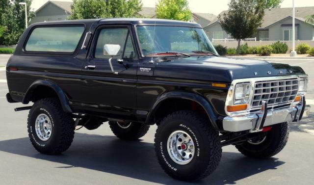 1979 Ford Bronco Custom 4x4. Automatic, 400M engine. SHARP.
