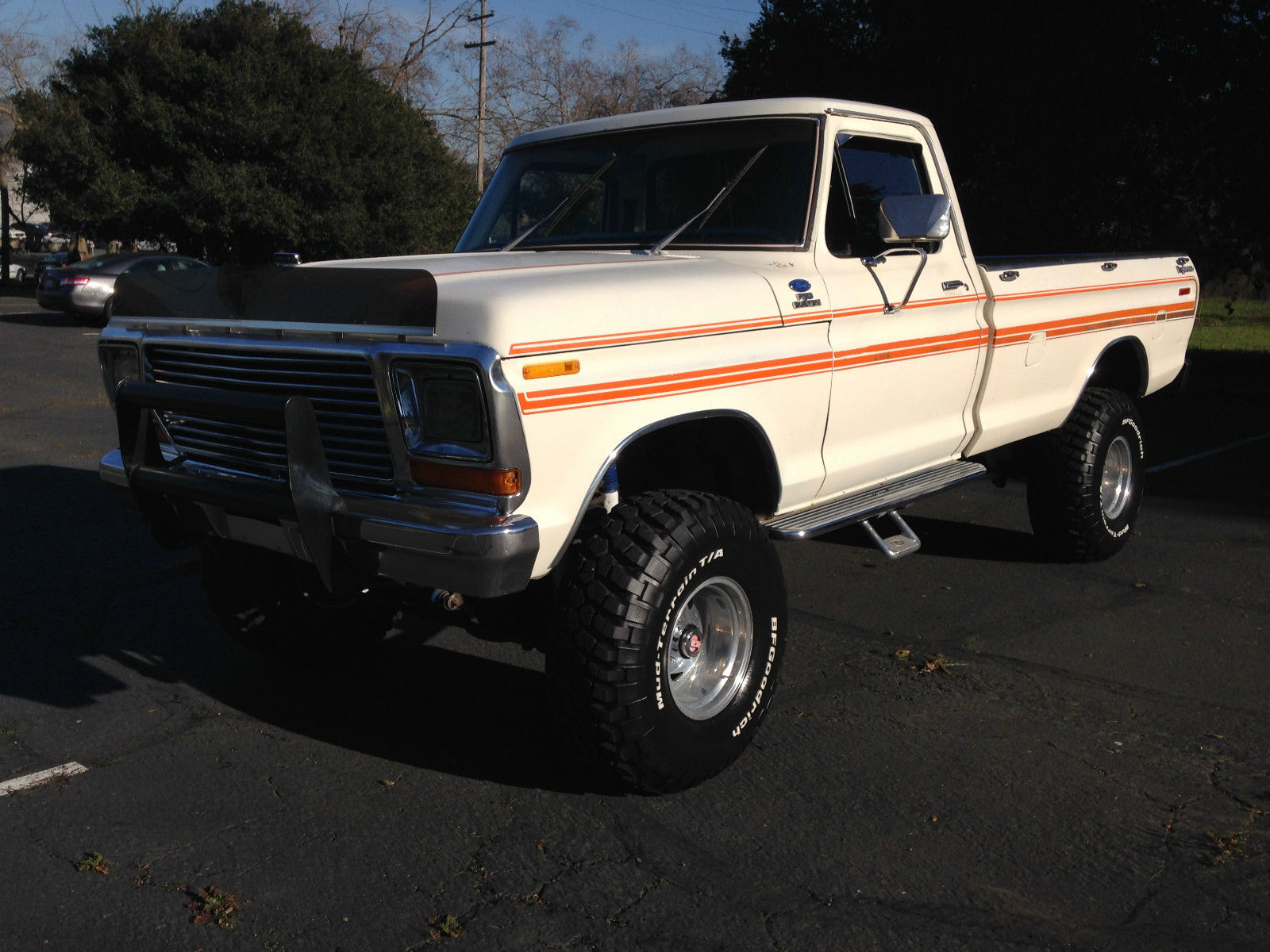 1979 Ford F 150 4x4 Explorer Lifted Longbed Pickup Very Nice