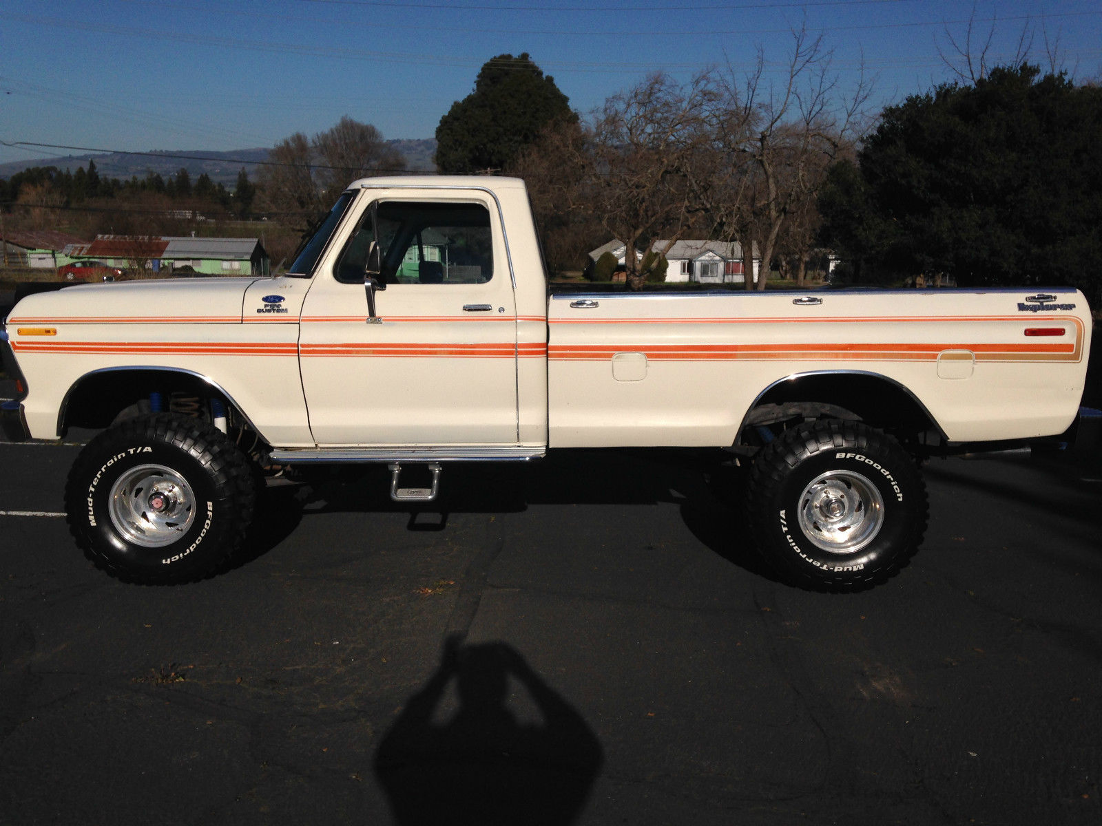 1979 ford f 150 4x4 explorer lifted longbed pickup very nice. Black Bedroom Furniture Sets. Home Design Ideas