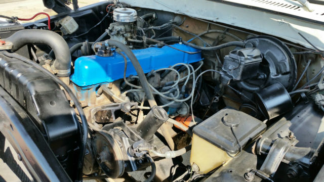 Ford F X Inline Spd Manual Rhino Liner Tsl on Ford 300 Straight 6 Engine For Sale