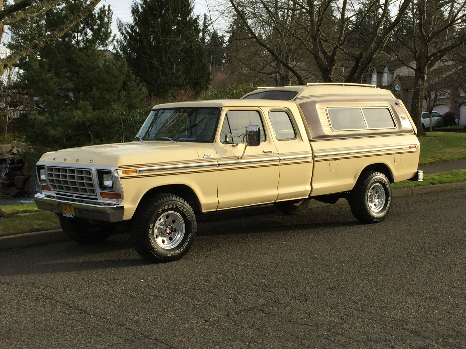 1979 ford f 250 4x4 super cab auto only 67k original miles 1 39 owner like new cond. Black Bedroom Furniture Sets. Home Design Ideas