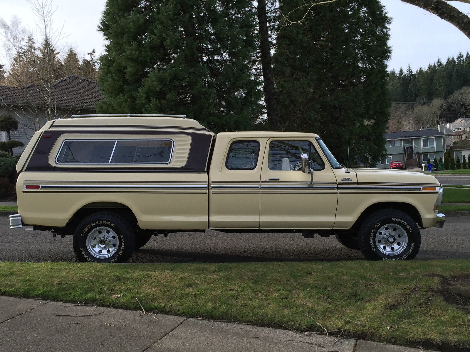 1979 Ford F-250 4x4 Super Cab Auto Only 67k Original Miles ...