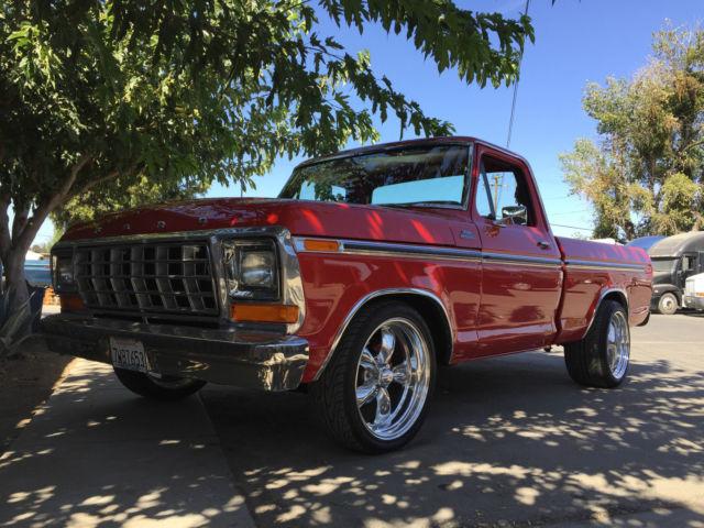 1979 Ford F100 Custom  Fully Restored  302 Cid V8  No Expense Spared