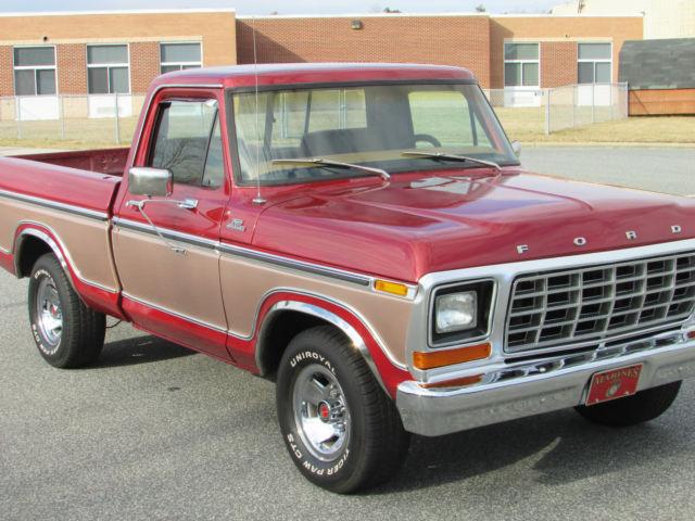 1979 ford f100 short bed pickup truck 351w clean. Black Bedroom Furniture Sets. Home Design Ideas
