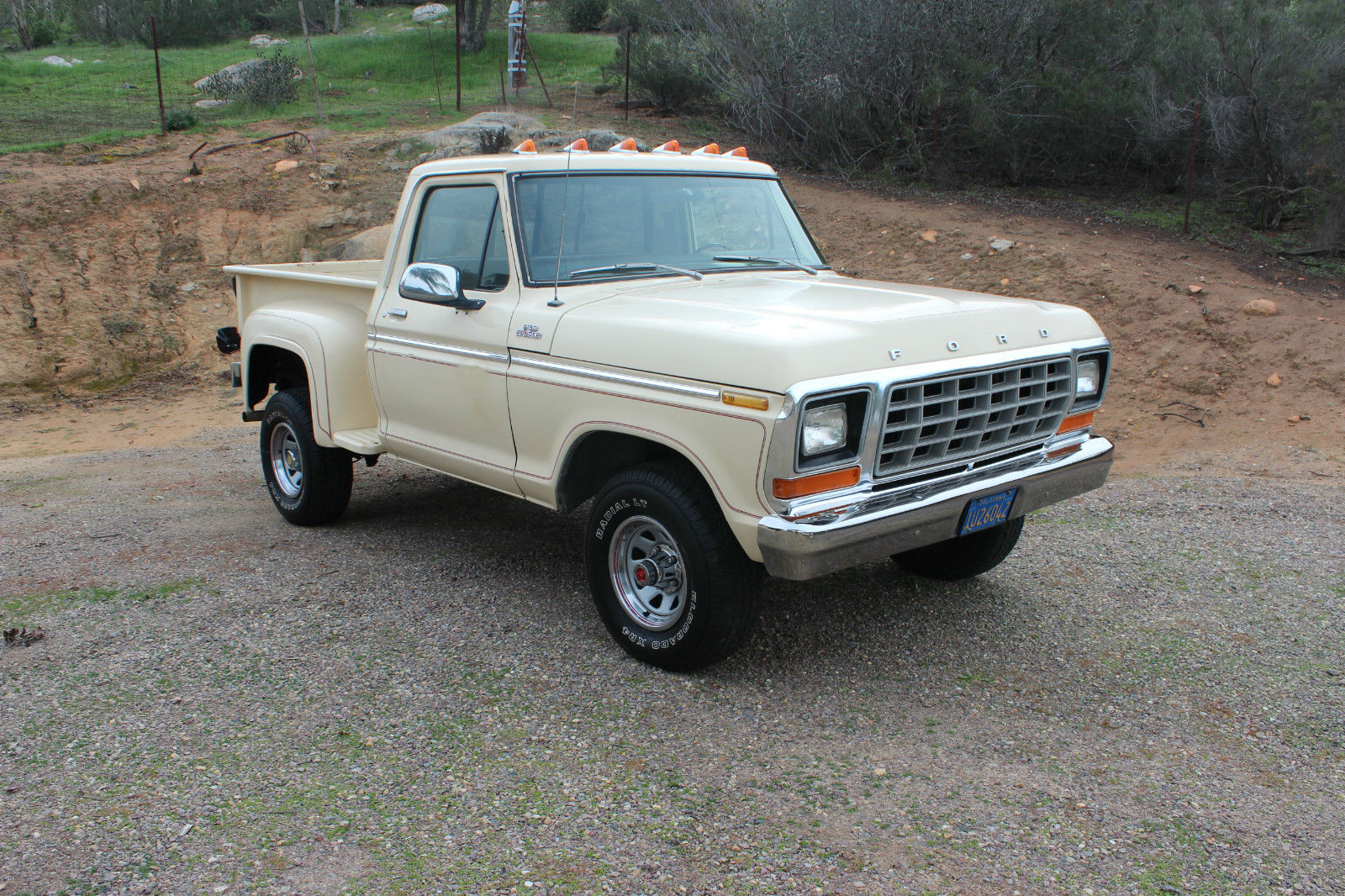1979 ford f150 4x4 shortbed 4wd for sale in ramona. Black Bedroom Furniture Sets. Home Design Ideas