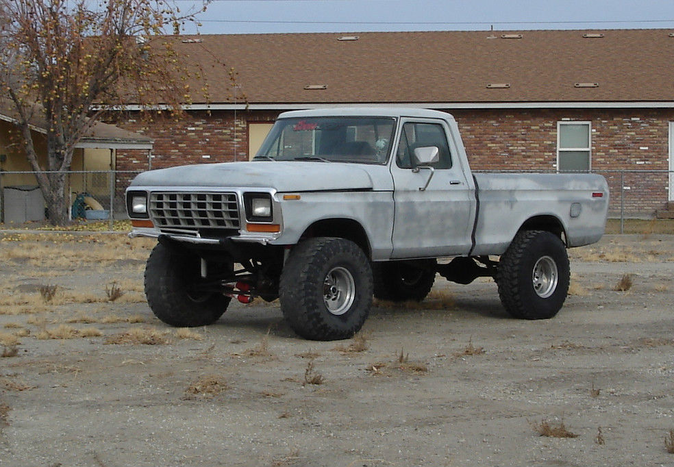 1979 ford f150 short bed 4x4 running project rare lifted. Black Bedroom Furniture Sets. Home Design Ideas