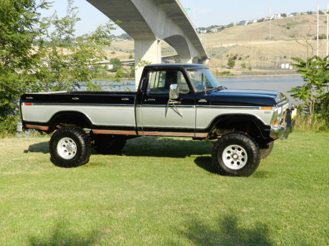 Ford F X Ranger Xlt Lifted Black And Silver Best On Ebay For The Money