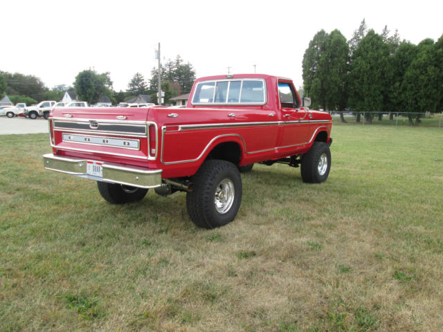 1979 FORD F250 RANGER XLT 4X4 LONG BED REGULAR CAB LOW MILEAGE