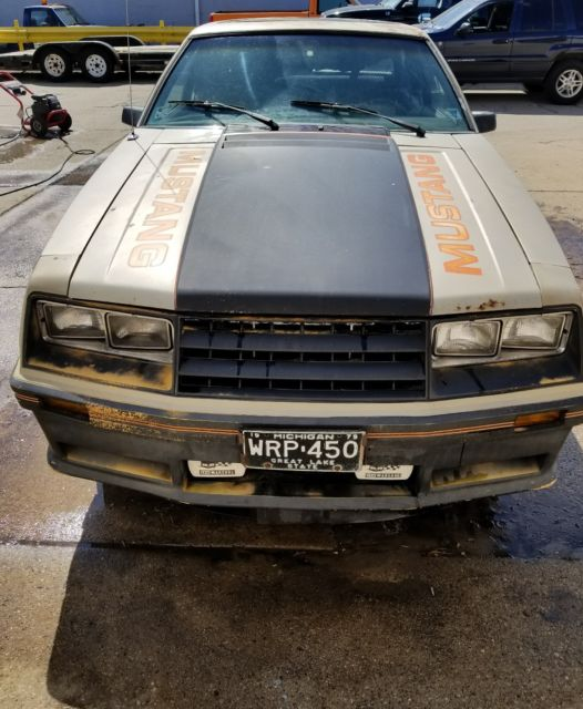 1979 Ford Mustang Indy Pace Car Foxbody Project Barn Find