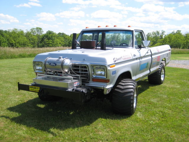 1979 ford ranger f250 modified 4x4 pulling truck 400m 351c c6 dana 60 460. Black Bedroom Furniture Sets. Home Design Ideas