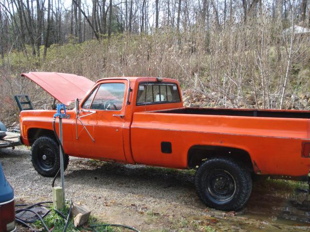 1979 Gmc K 2500 Sierra Grande Pickup Truck