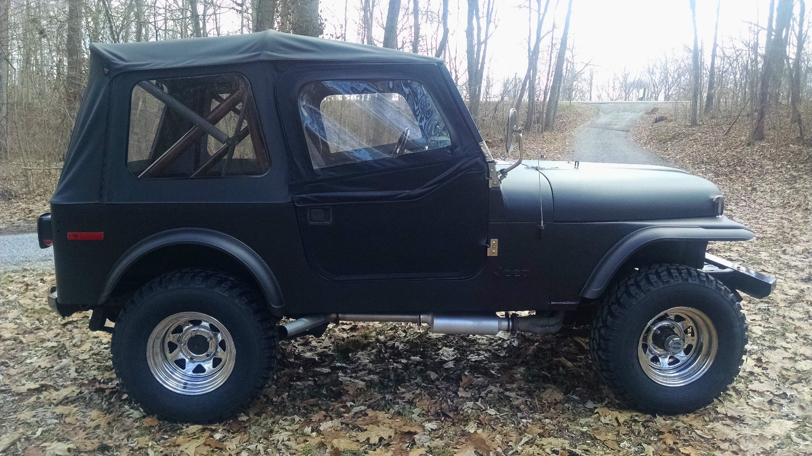 1979 jeep cj 7 360 v8 3 speed new tires new top and more nice daily driver. Black Bedroom Furniture Sets. Home Design Ideas