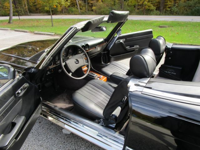 Used Cars Cleveland Ohio >> 1979 Mercedes 450 SL Convertible w/ Hardtop - 89K Actual Miles - Excellent Shape