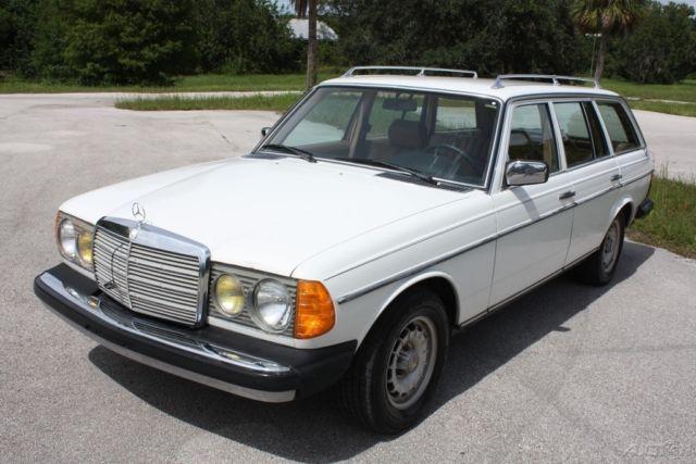 1979 Mercedes Benz 300td Wagon Diesel W123 Original Florida No Reserve