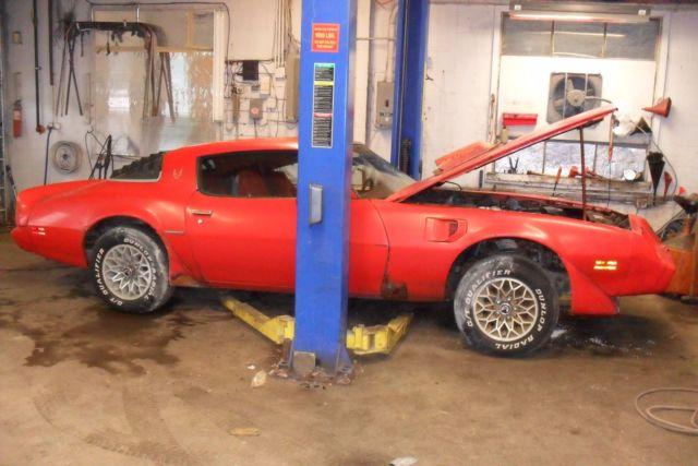 1979 Pontiac Firebird Trans Am 6 6l Barn Find