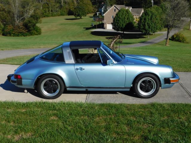1979 porsche 911sc targa really nice southern car with service records and coa. Black Bedroom Furniture Sets. Home Design Ideas