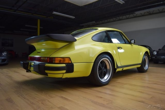 1979 Porsche 930 Turbo In Paint To Sample Over Black