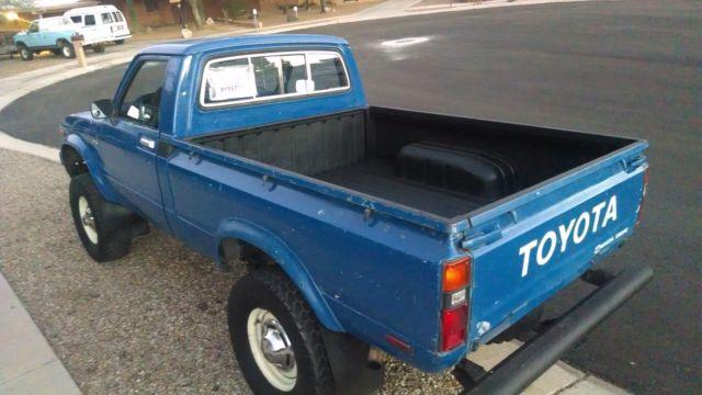 1979 Toyota 4x4 Hilux Pickup. SR5 43k Orig.Miles ...