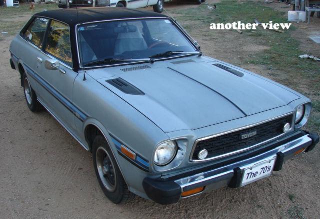 1979 toyota corolla liftback sr5 te 51 hardtop neat car. Black Bedroom Furniture Sets. Home Design Ideas