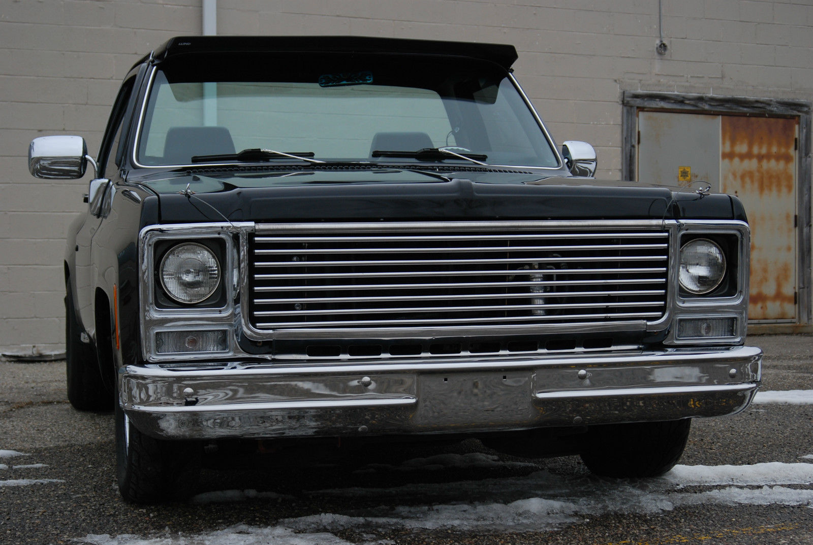 1980 Chevrolet C10 SHORT BED STEP SIDE DELUXE CUSTOM AIR ...