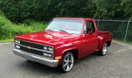 1980 chevy c10 truck brandywine fenway park airbrushed on tailgate. Black Bedroom Furniture Sets. Home Design Ideas
