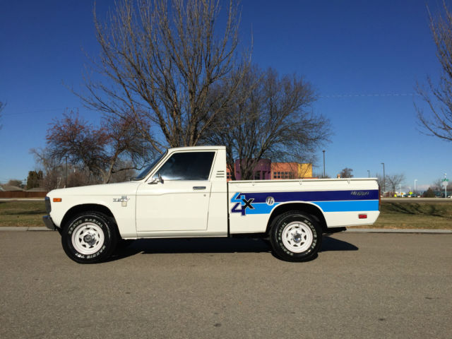 1980 chevy luv mikado 4x4 4 speed manual with only actual miles. Black Bedroom Furniture Sets. Home Design Ideas