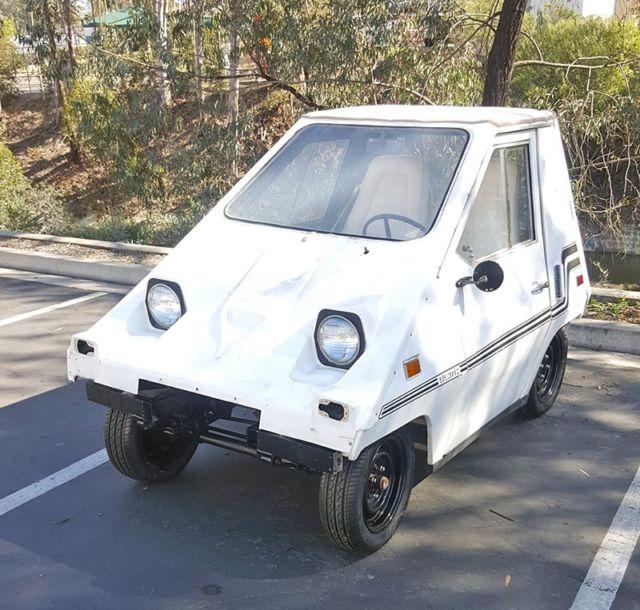 1980 Comuta-car, Vanguard Citicar, Comutacar