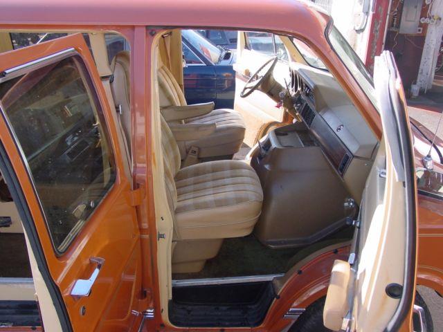 Cars For Sale In Wisconsin >> 1980 DODGE RAM VAN SPORTSMAN ROYALE EXTENDED V8 CAMPER CLASS B NO RESERVE! 1974