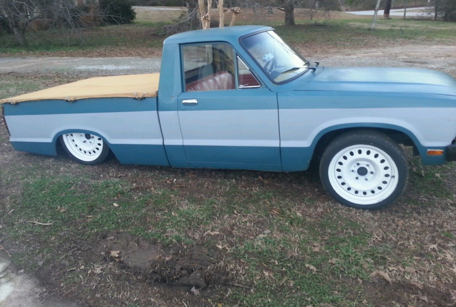 1980 Ford Courier Mini Truck Rat Rod 23 Bagged For Sale In Interior Lawrenceville Georgia United States